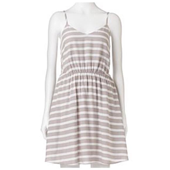 44ad42ae7d LC Lauren Conrad Dresses | Lauren Conrad Striped Dress | Poshmark
